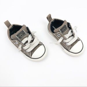 Converse All Star Street Mid Slip On Shoes Grey 5